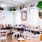 Krzesła kuchenne Vintage w restauracji