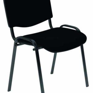 krzesło iso czarne| krzeslo-iso