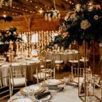 Sala weselna z krzesłami Chiavari