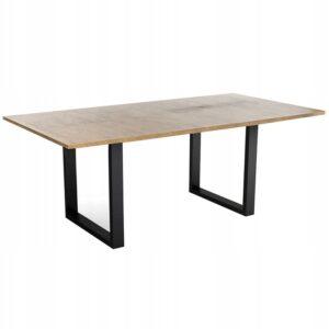 | Stol-industrialny-LOFT-metalowe-czarne-nogi